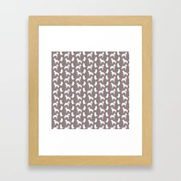Berner Shadows Framed Art Print