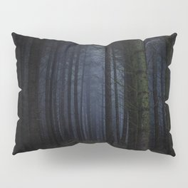 The Dark & Eerie Woods (Color) Pillow Sham