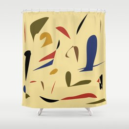 A little abstract Shower Curtain