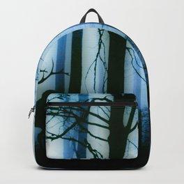 Deer in the blue forest Backpack