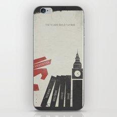 V Vendetta, Alternative Movie Poster, graphic novel by Alan Moore iPhone & iPod Skin