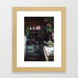 Pioneer Kitchen Framed Art Print
