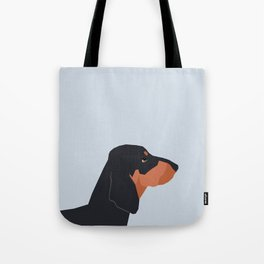 Dakota - Dachshund phone case fun and bright for pet lovers and gift for dog people Tote Bag