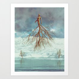 Your Roots Are Showing Art Print