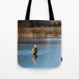 Gone Fishing 3 Tote Bag