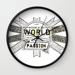 World Quote Wall Clock