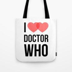 I ♥♥ Doctor Who Tote Bag