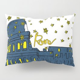 Rome Italy Pillow Sham