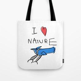 I Heart Nature Tote Bag