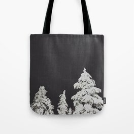 A Pacific Northwest Winter Night Tote Bag