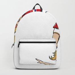 Dabbing Soccer Player Funny Croatia Fan product girl Backpack