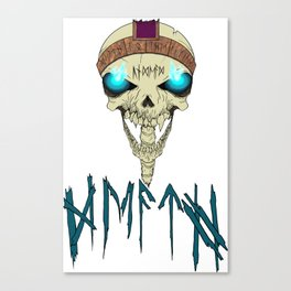 Death To The Living! Canvas Print