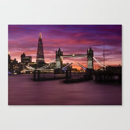Tower Bridge London Canvas Print