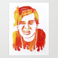 Tom DeLonge Art Print