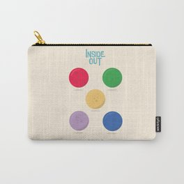 Inside Out - Minimal Movie Poster, animated movie, Carry-All Pouch