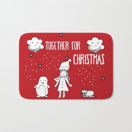 Together for Christmas Bath Mat