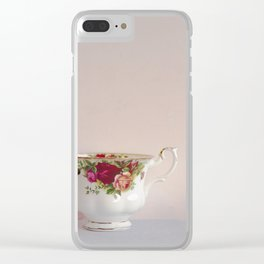 Teacup Lone Clear iPhone Case