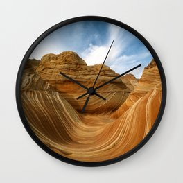 The Wave-Paria Wilderness Wall Clock