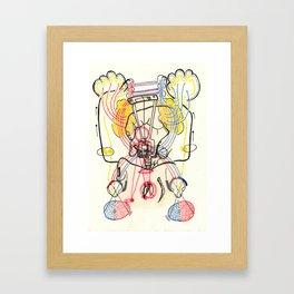 Sensory Systems 4 Framed Art Print