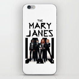 The Mary Janes iPhone Skin