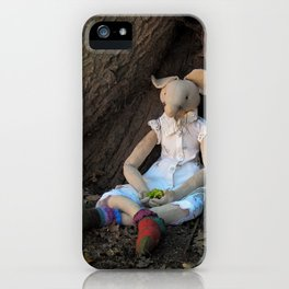Miss Mouse under the Oak Tree iPhone Case