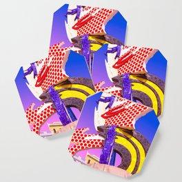 Pop Art City of Barcelona Coaster