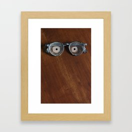 They're Watching You  Framed Art Print