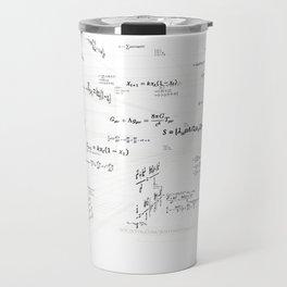 Mathspace - High Math Inspiration - Inverted Color Travel Mug