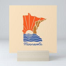 Minnesota Sunset Mini Art Print