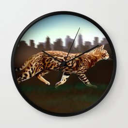 Meet the wild brother - Part 2 Wall Clock