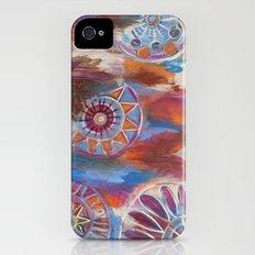 Abstract Mandalas Slim Case iPhone (4, 4s)