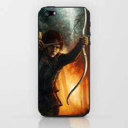 Katniss Everdeen iPhone Skin