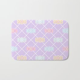 Candy Pattern Bath Mat