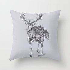 The Peryton Throw Pillow