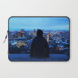 The guy at Mont Royal - Montreal, Canada Laptop Sleeve