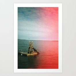 We Were Young Once Art Print