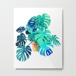 Monstera || Metal Print