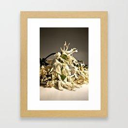 Daisy Death Framed Art Print