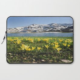 yellow flowers Laptop Sleeve