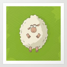 Giant Sheep Art Print