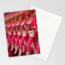Kick Line Stationery Cards