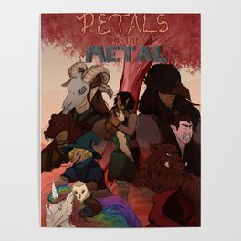 Petals to The Metal Poster