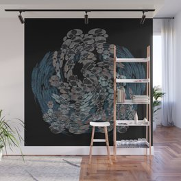 Elegant Stone Whirlwind Earth Elements Abstract Wall Mural