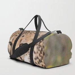 Cheeta Head looking Duffle Bag