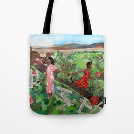 My Rose of the World Tote Bag