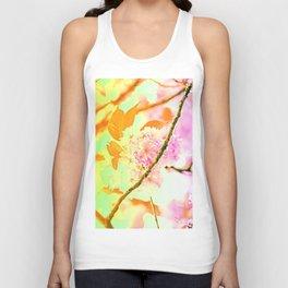 Spring hippy love colors Unisex Tank Top