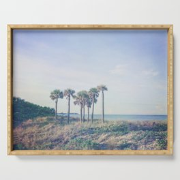 Seven Palm Trees Serving Tray