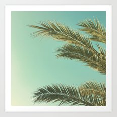 Autumn Palms II Art Print