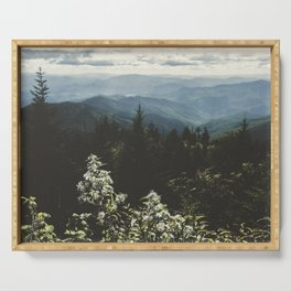 Smoky Mountains - Nature Photography Serving Tray