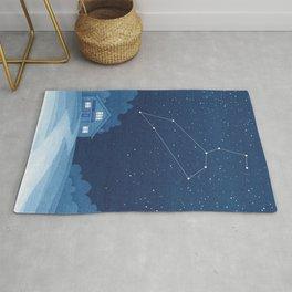 Leo Constellation, zodiac, house Rug